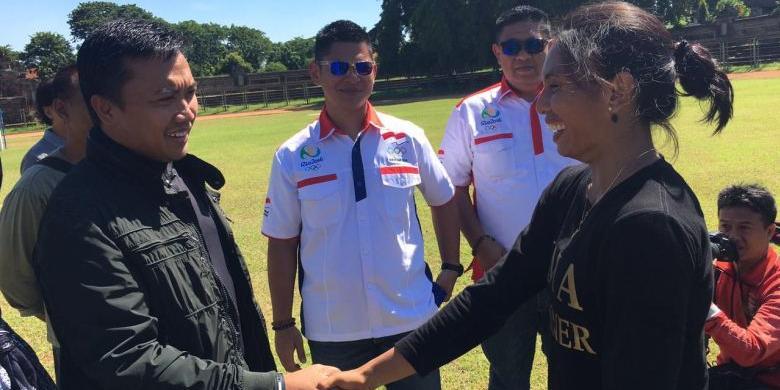 Profil Maria Londa, Pembawa Bendera Di Pembukaan Olimpiade