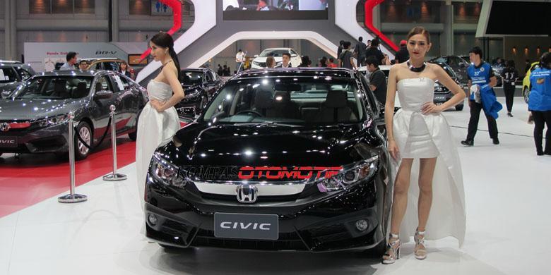Honda Akan Luncurkan Civic Turbo di IIMS 2016