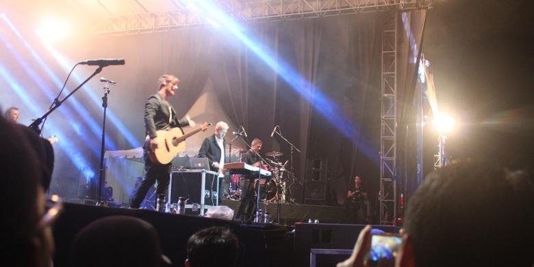 Band Michael Learns to Rock (MLTR) sukses mengehentak Kota Tenggarong, Kabupaten Kutai Kartanegara, Kalimantan Timur, dalam ajang musik bergengsi Festival Musik Rock