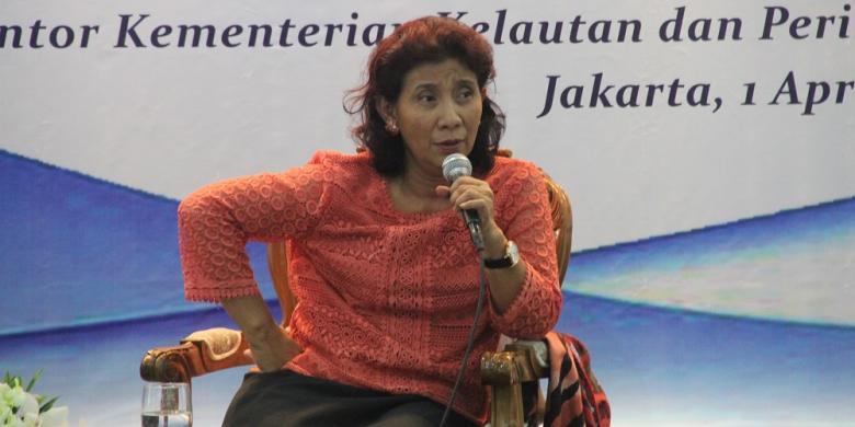 Ditantang Sri Mulyani Tingkatkan Penerimaan Negara, Ini Jawaban Susi