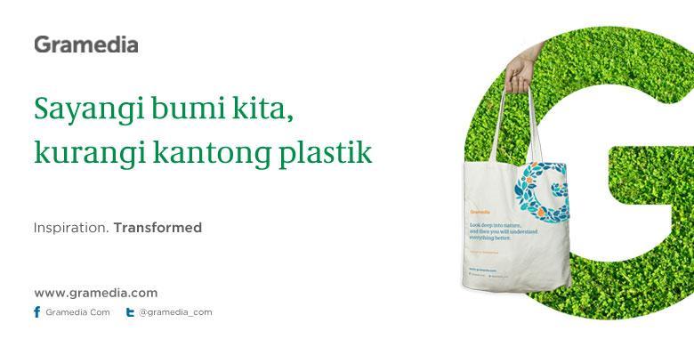 Gramedia.com Kampanyekan Diet Kantong Plastik - Kompas.com