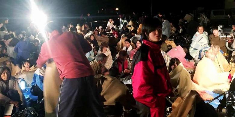 Korban Gempa Jepang Kesulitan Makanan, Wali Kota Hanya Makan Sepotong Tahu