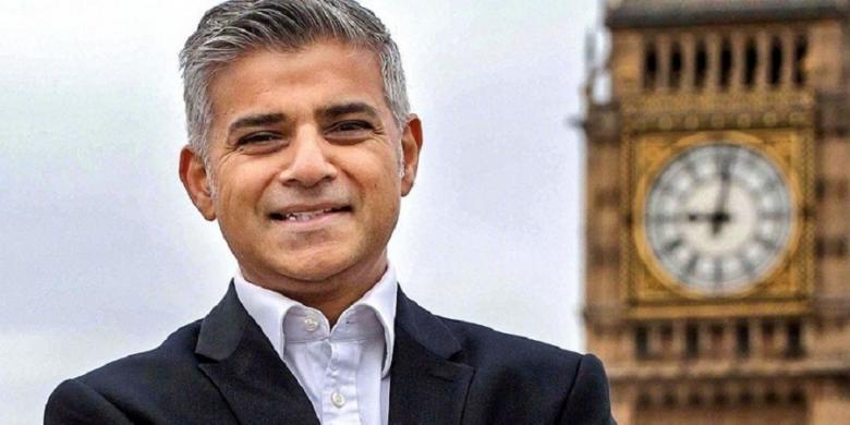 Sadiq Khan Terpilih Jadi Wali Kota Muslim Pertama di London