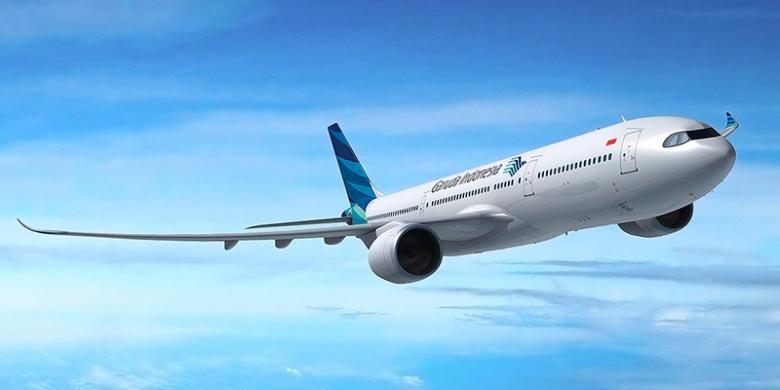 """Garuda Indonesia Raih Penghargaan """"Most Improved Airlines"""""""
