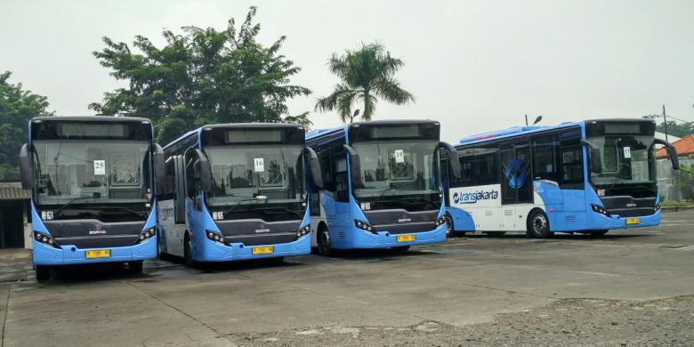 Dari 51 Unit, Baru 14 Bus Transjakarta Milik Mayasari Bakti yang Beroperasi