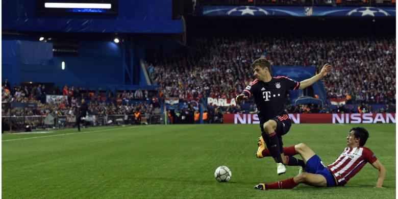Catatan Menarik Duel Atletico Madrid Vs Bayern Muenchen