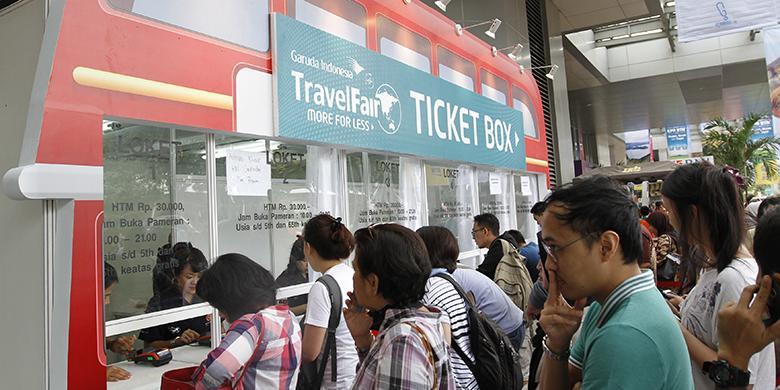 Hari Ini Garuda Indonesia Travel Fair 2017 Phase I Dibuka