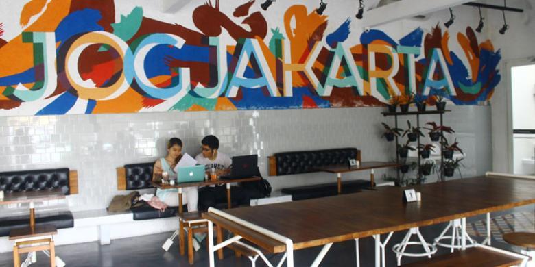 Ini Lokasi AADC? 2, Restoran Lokal di Yogyakarta