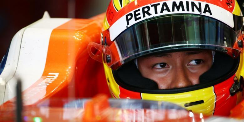 Tertabrak Hulkenberg, Rio Tersingkir dari Balapan GP Rusia