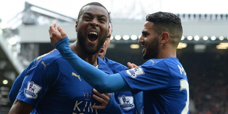 Leicester Gagal Pesta Juara di Markas Manchester United