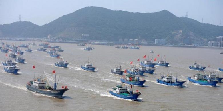 Bangun Satu Pangkalan Kapal Lagi, China Terus Perkuat Kehadiran di Laut China Selatan