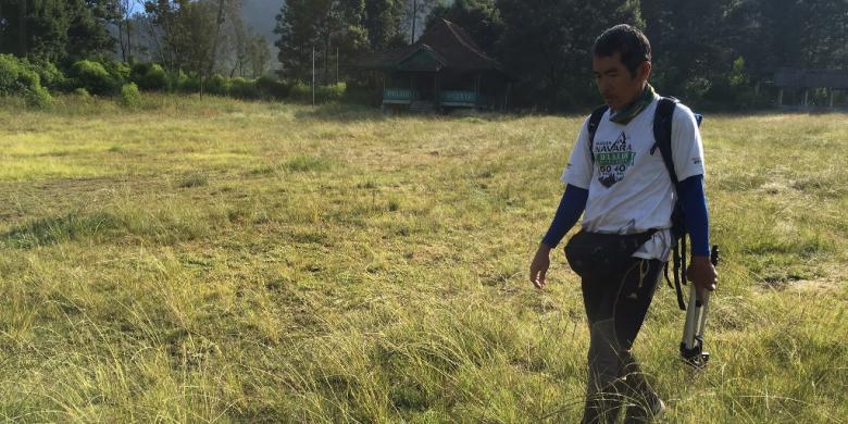 Wah dalam Satu Hari, Willem Sigar Daki Gunung Raung Setelah Jajal Ijen