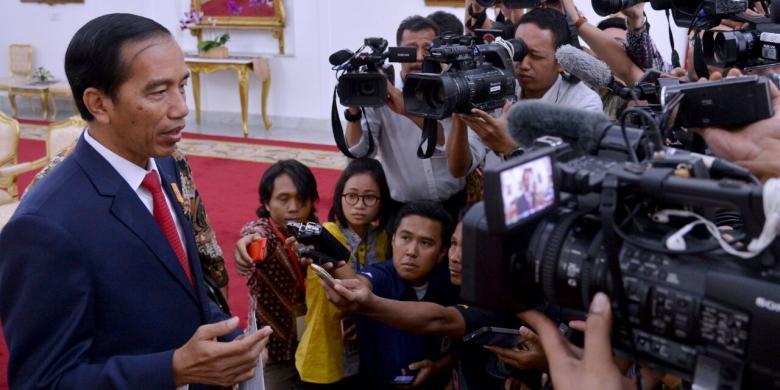 Jokowi Tanda Tangani Perppu yang Atur Hukuman Kebiri