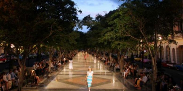 Rumah Mode Chanel Gelar Peragaan Busana Perdana di Kuba Sejak 1959