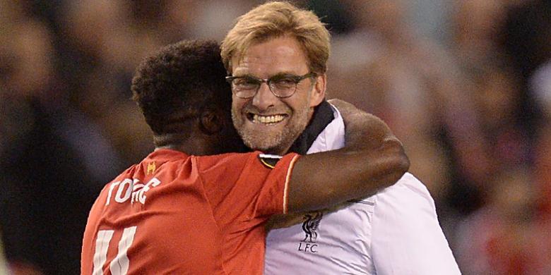 Sukacita Klopp Usai Antarkan Liverpool ke Final