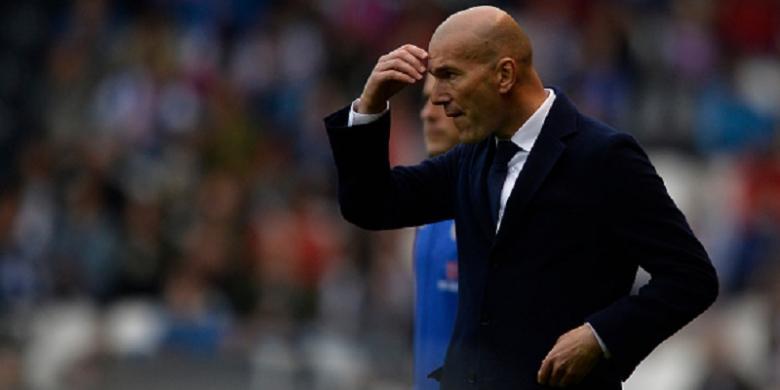 Zidane: Ronaldo Tidak Bermain Buruk tetapi...