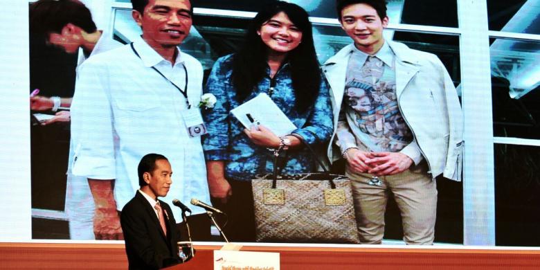 Hari Ketiga di Korea, Jokowi Nonton K-Pop dan Terima Dua Penghargaan