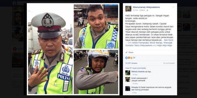 Pengendara Sepeda Motor Mengaku Dipukul Polisi. Ini Penjelasan Polres Tangsel