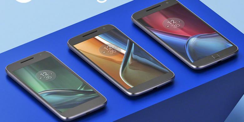 Motorola Perkenalkan Trio Android Murah Moto G4