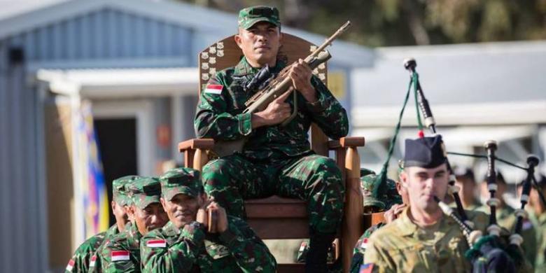MEMBANGGAKAN !!! LAGI LAGI TNI Duduki Puncak Klasemen Ajang Lomba Tembak di Australia, TOLONG DISHARE ATAS PRESTASI TNI KITA YANG TERCINTA