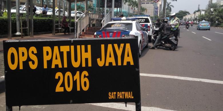 Polisi Keluarkan 59.507 Surat Tilang di Operasi Patuh Jaya 2016