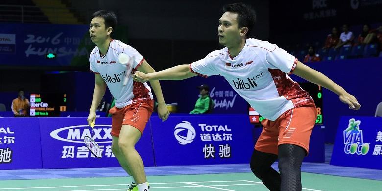Hendra/Ahsan Ke Babak Perempatfinal