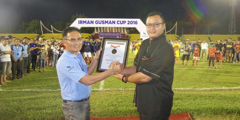 Irman Gusman Cup Catat Rekor MURI