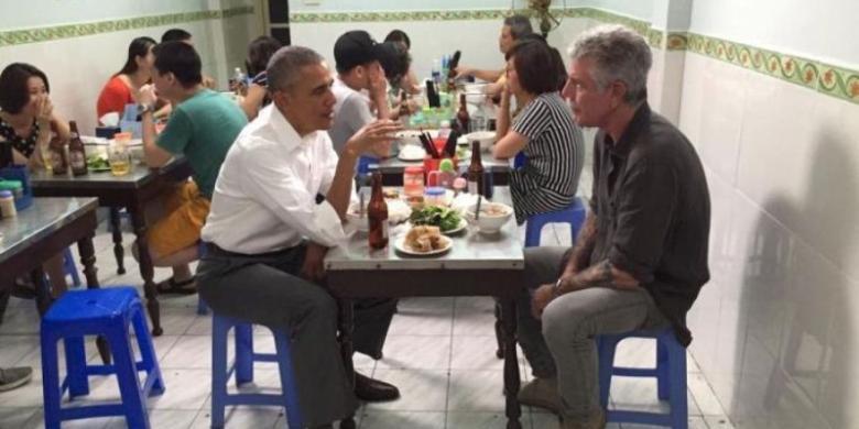 Apa Istimewanya Bun Cha, Mi Dingin Vietnam yang Disantap Obama?