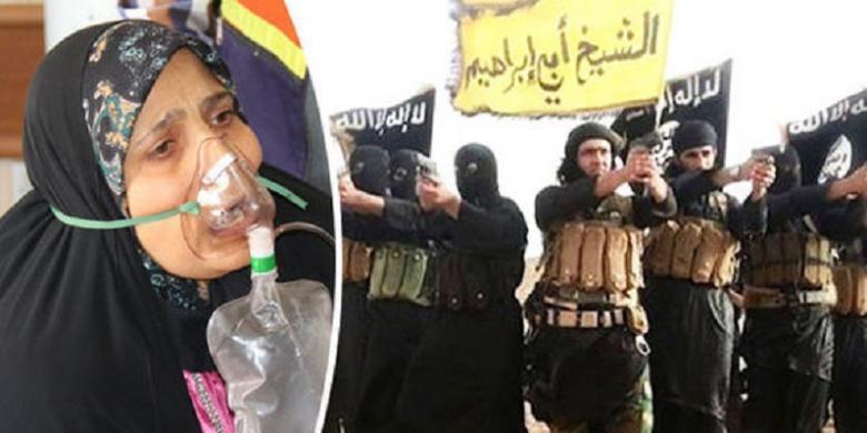 Mengerikan, ISIS Menguji 'Senjata Kimia' pada Tahanan dan Hewan