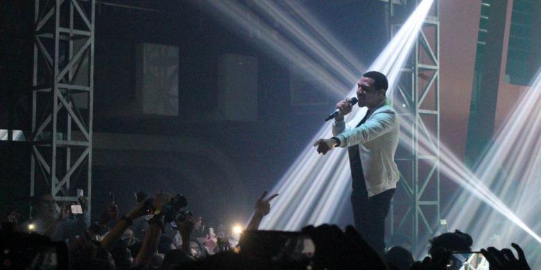 Konser di Samarinda, Dawin Polanco Hibur 300 Penonton
