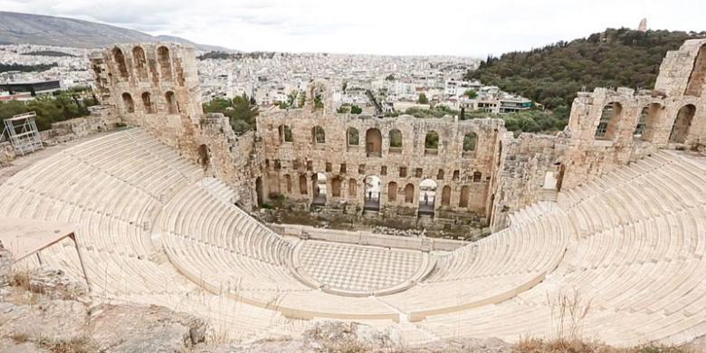 Menyambangi Dewi Kebijaksanaan Di Athena