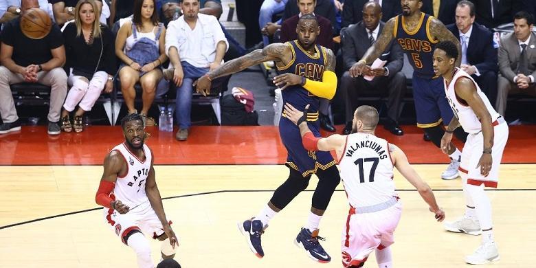 LeBron James Bawa Cavs Ke Final NBA