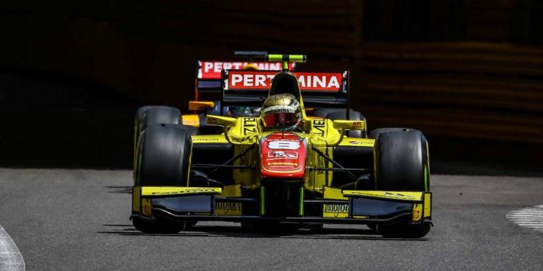 Sean Gelael Masih Belum Maksimal Pada Sesi Latihan GP Eropa