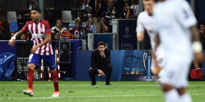 Simeone Tak Akan Pergi dari Atletico