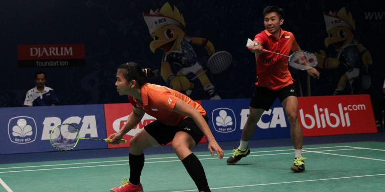 Rian/Greysia Coba Lapangan Pada Babak Kualifikasi Indonesia Open