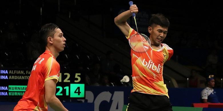 Rian/Fajar Diharap Lolos Semifinal Taiwan Terbuka
