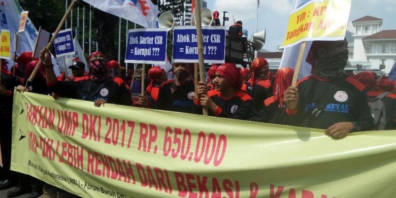 Kspi Tak Ada Kepentingan Politik Di Balik Demo Buruh Yang Kritik Ahok