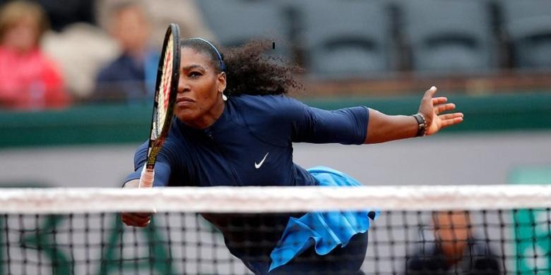 Lolos Ke Final Perancis Terbuka, Serena Kejar Rekor Graf