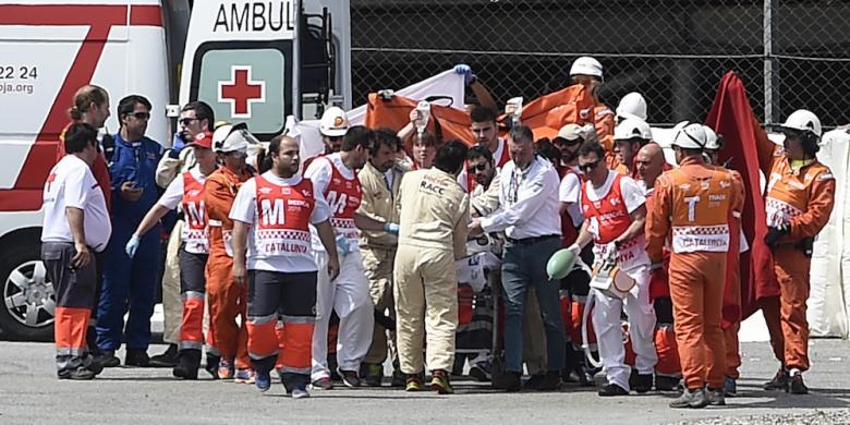 Pebalap Moto2, Luis Salom, Tewas Karena Kecelakaan Pada Latihan Bebas Kedua GP Catalunya