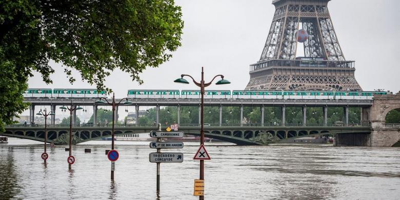 Banjir Perancis, Belum Terjadi Pembatalan Kunjungan Turis Indonesia