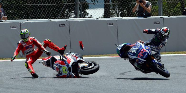 Kecelakaan Makin Sering Pada MotoGP 2016
