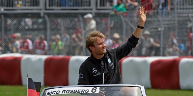 Pebalap F1 Rayakan Kemenangan Jerman