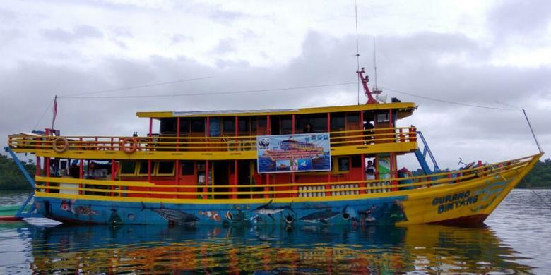 Mengintip Kapal Gurano Bintang Milik WWF Indonesia