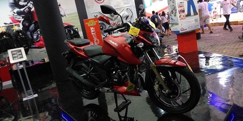 TVS Jualan Motor Via Mini Market
