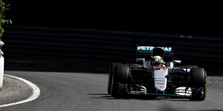 Hamilton Dan Rosberg Kuasai Latihan Pertama GP Inggris
