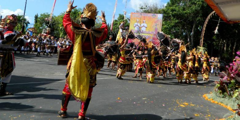 Ini Rute Pawai Pembukaan Pesta Kesenian Bali