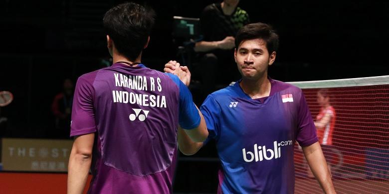"""All Indonesian Final"" Pada Nomor Ganda Putra"