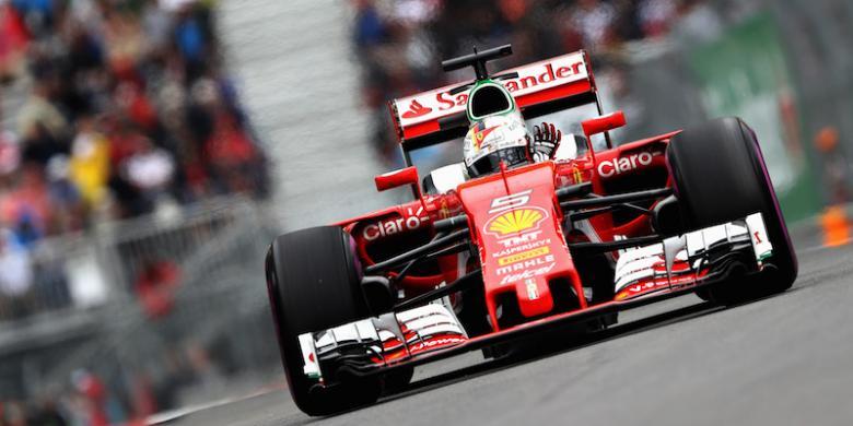 Vettel Ungguli Duo Mercedes, Rio Masih Tertahan Di Papan Bawah
