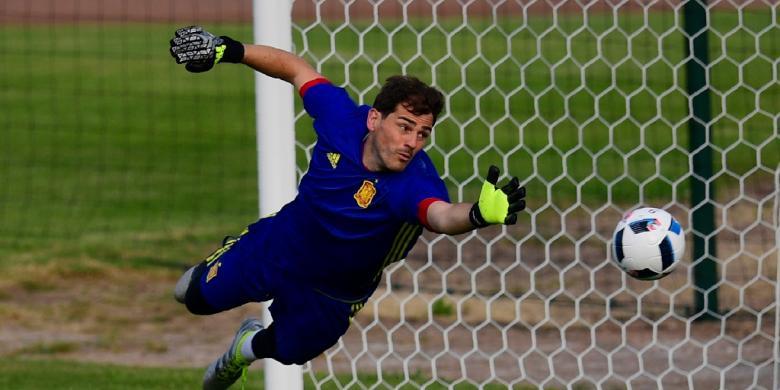 Casillas Masih Diberi Kesempatan bersama Spanyol