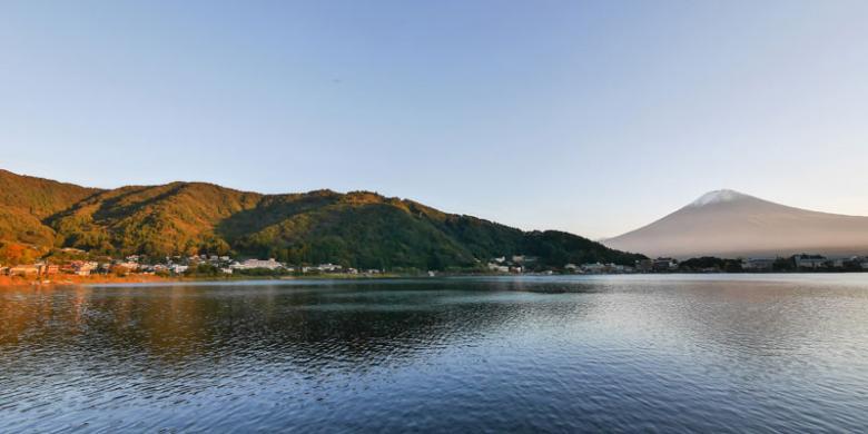 Danau Kawaguchiko, Danau Tercantik Di Jepang